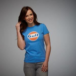Gulf T-Shirt Dry-T Damen cobalt