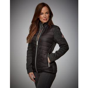 Gulf Motorsport Zip Damen Jacke schwarz