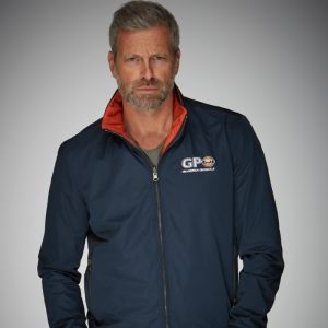 Gulf Reverse Blouson blue-orange