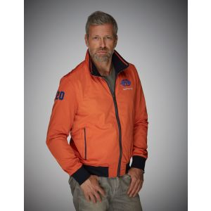 Gulf Reverse Blouson bleu-orange