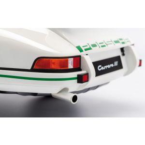 Porsche 911 Carrera RS 2.7 construcción ligera - 1972 - 1/8 blanca / decoración verde