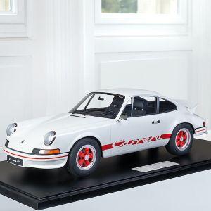 Porsche 911 Carrera RS 2.7 construcción ligera - 1972 - 1/8 blanca / decoración roja