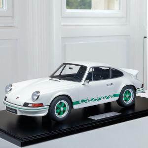 Porsche 911 Carrera RS 2.7 Leichtbau - 1972 - 1:8 weiß / grünes Dekor