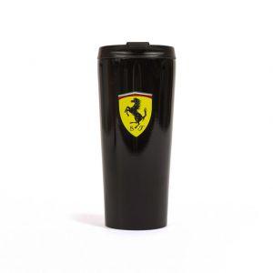 Scuderia Ferrari Taza Térmica negra