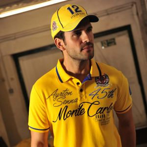 Ayrton Senna Cap Monaco Champion model