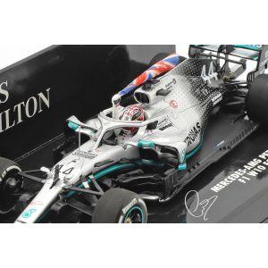 Lewis Hamilton Mercedes-AMG F1 W10 #44 British GP Weltmeister F1 2019 1:43