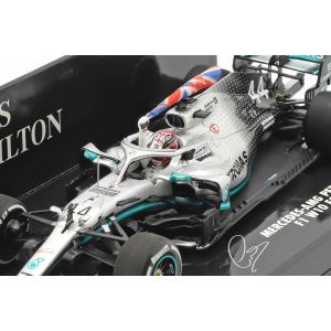 Lewis Hamilton Mercedes-AMG F1 W10 #44 British GP World Champion F1 2019 1/43