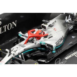 Lewis Hamilton Mercedes-AMG F1 W10 #44 Monaco GP Campeón Mundial F1 2019 1/43