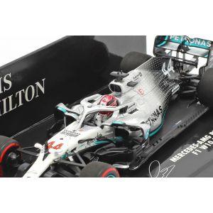 Lewis Hamilton Mercedes-AMG F1 W10 #44 GP de Alemania Campeón Mundial F1 2019 1/43