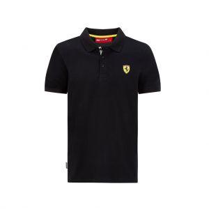 Polo Scuderia Ferrari Classic nera