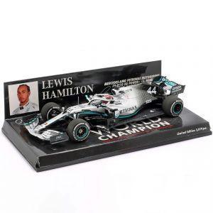 Lewis Hamilton Mercedes-AMG F1 W10 #44 USA GP Weltmeister F1 2019 1:43
