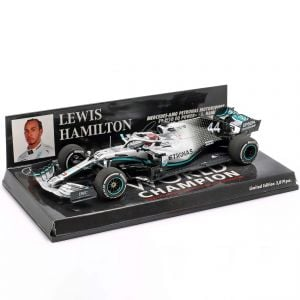 Lewis Hamilton Mercedes-AMG F1 W10 #44 USA GP World Champion F1 2019 1/43