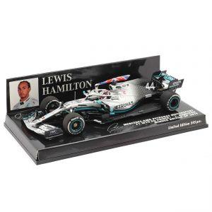 Lewis Hamilton Mercedes-AMG F1 W10 #44 British GP Campione del mondo F1 2019 1/43