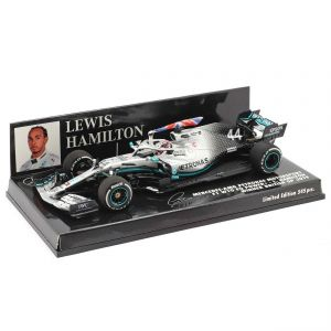 Lewis Hamilton Mercedes-AMG F1 W10 #44 British GP Champion du monde F1 2019 1/43