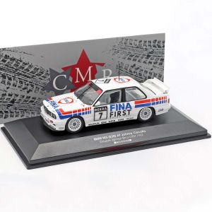 BMW M3 E30 #7 Doble ganador Brno DTM 1992 Johnny Cecotto 1/43