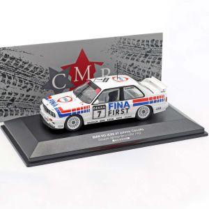 BMW M3 E30 #7 Double vainqueur Brno DTM 1992 Johnny Cecotto 1/43