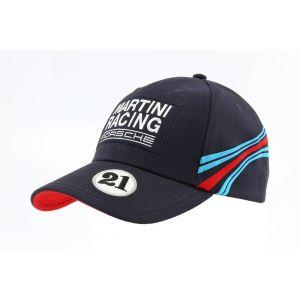 Porsche Baseball-Cap Martini Racing #21 bleu foncé