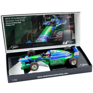 Mick Schumacher Benetton Ford B194 Demo Run GP de Belgique 2017 1/18