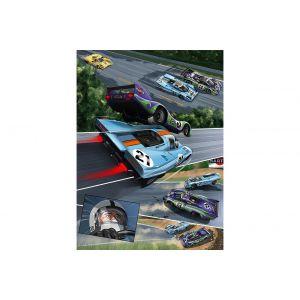 Comic-Set: Steve McQueen in Le Mans + Und Steve McQueen erschuf Le Mans (Alemán)
