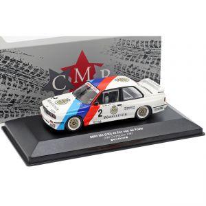 BMW M3 E30 #2 DTM Champion 1987 Eric van de Poele 1:43