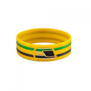 No Pulso do Brasil Wristband