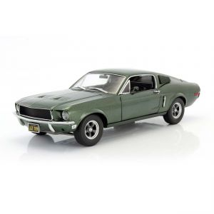 Ford Mustang GT Movie Car Bullitt - Steve McQueen 1968 1/18