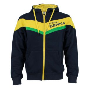 Ayrton Senna Sweat à Capuche Racing