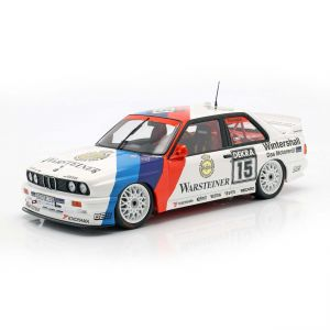 BMW M3 (E30) #15 Sieger Hockenheim DTM 1992 Roberto Ravaglia 1:18