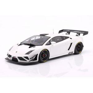 Lamborghini Gallardo GT3 FL2 Année de fabrication 2013 blanc 1/18