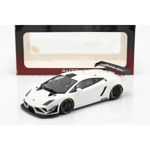 Lamborghini Gallardo GT3 FL2 Año de fabricación 2013 blanco 1/18