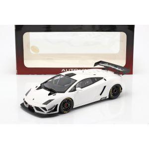 Lamborghini Gallardo GT3 FL2 Year of manufacture 2013 white 1/18
