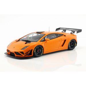 Lamborghini Gallardo GT3 FL2 Année de fabrication 2013 orange 1/18