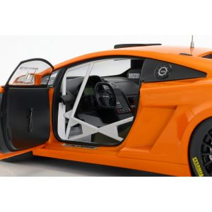 Lamborghini Gallardo GT3 FL2 Baujahr 2013 orange 1:18