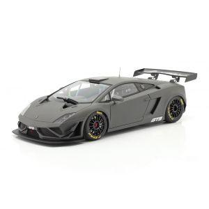Lamborghini Gallardo GT3 FL2 Année de fabrication 2013 gris terne 1/18