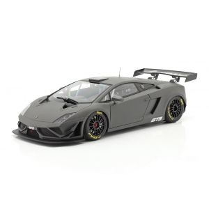Lamborghini Gallardo GT3 FL2 Year of manufacture 2013 dull gray 1/18
