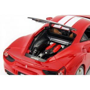 Ferrari 488 GTB The Schumacher 70th Anniversary Collection rosso 1/18