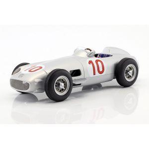 J.M. Fangio Mercedes-Benz W196 #10 Vainqueur du GP de Belgique Champion du monde de Formule 1 1955 1/18
