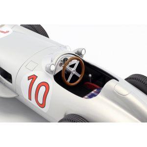 J.M. Fangio Mercedes-Benz W196 #10 Ganador del GP de Bélgica Campeón Mundial de Fórmula 1 1955 1/18