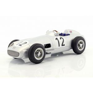 Stirling Moss Mercedes-Benz W196 #12 Sieger Großbritannien GP Formel 1 1955 1:18