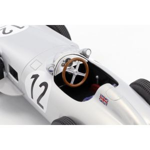 Stirling Moss Mercedes-Benz W196 #12 Winner Great Britain GP Formula 1 1955 1:18
