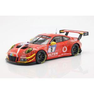 Porsche 911 (911) GT3 R #2 24h Nürburgring 2018 Gigaspeed Team 1:18