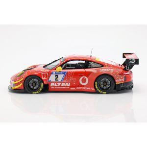 Porsche 911 (911) GT3 R #2 24h Nürburgring 2018 Gigaspeed Team 1/18