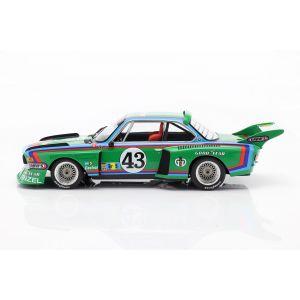 BMW 3.5 CSL #43 24h Le Mans 1976 Quester, Krebs, Peltier 1:18