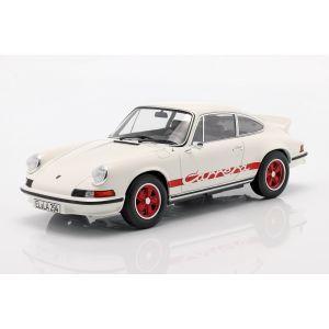 Porsche 911 Carrera RS 2.7 Baujahr 1973 weiß / rot 1:18