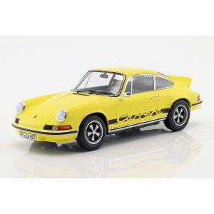 Porsche 911 Carrera RS 2.7 Année de fabrication 1973 jaune / noir 1/18