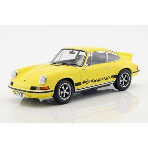 Porsche 911 Carrera RS 2.7 Año de fabricación 1973 amarillo / negro 1/18