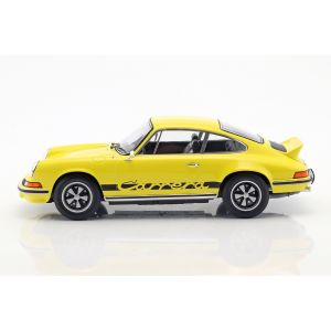 Porsche 911 Carrera RS 2.7 Year of manufacture 1973 yellow / black 1/18