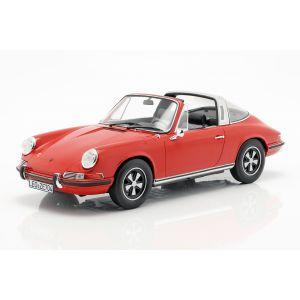 Porsche 911 T Targa Año de fabricación 1971 rojo 1/18