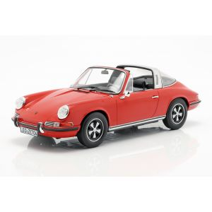 Porsche 911 T Targa Year of manufacture 1971 red 1/18
