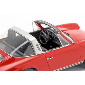 Porsche 911 T Targa Année de fabrication 1971 rouge 1/18